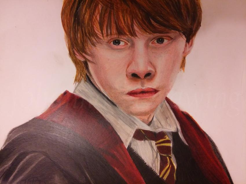 Rupert Grint by johannasdrawing